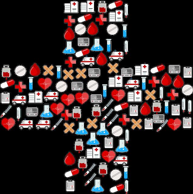 Cross, First Aid, Medical, Medicine, Doctor, Hospital