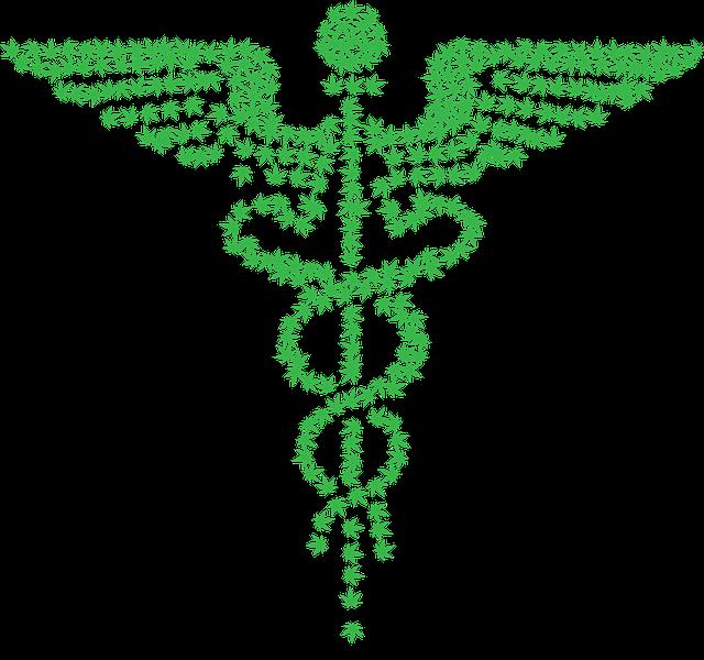 Caduceus, Marijuana, Medical, Drugs, Medicine, Pharmacy