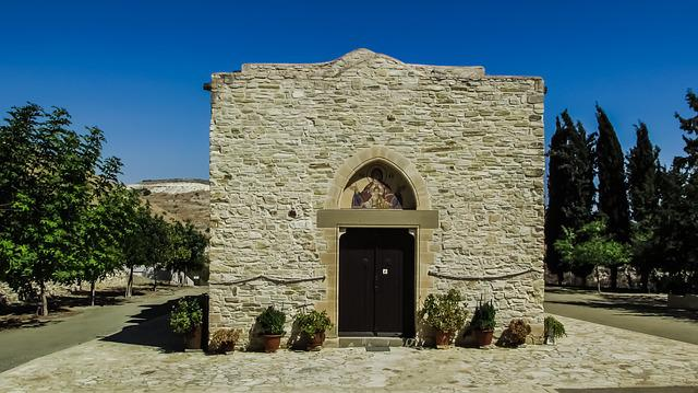 Monastery, Byzantine, Medieval, Church, Architecture