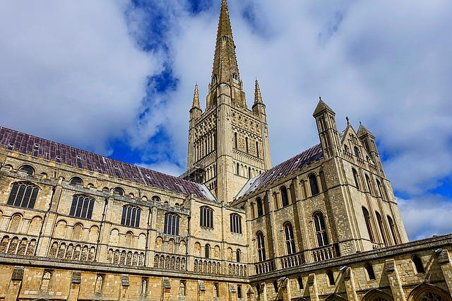 Norwich Cathedral, Spire, Medieval, Architecture