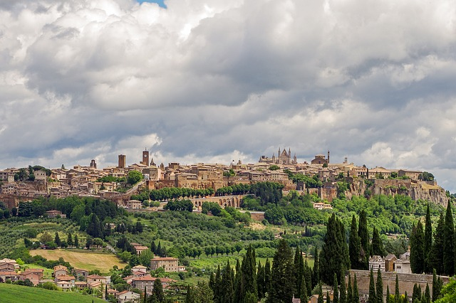 Orvieto, Medieval Town, Umbria, Italy, Middle Ages