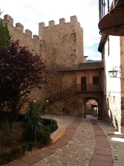 Albarracín, Medieval Village, Typical Street