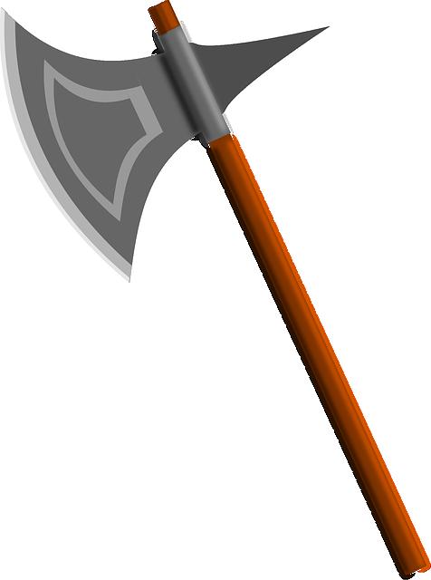 Battle Axe, Axe, Weapon, Executioner's Axe, Medieval