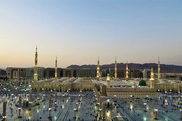 Masjid Nabi, Medina, Cami, Islam, Religion, Minaret