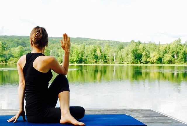 Yoga, Woman, Nature, Landscape, Meditate, Meditation
