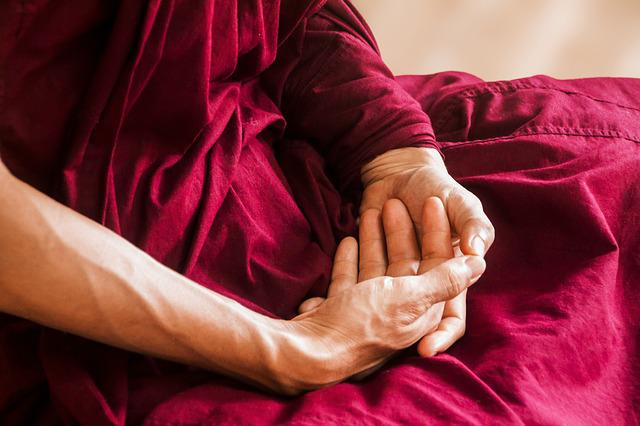 Meditation, Meditating, Hands, Buddhism, Theravada