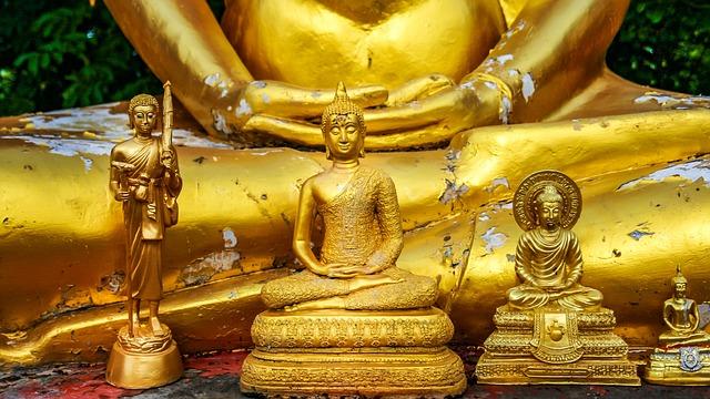 Buddha, Buddhism, Meditation, Gold, Golden Buddha