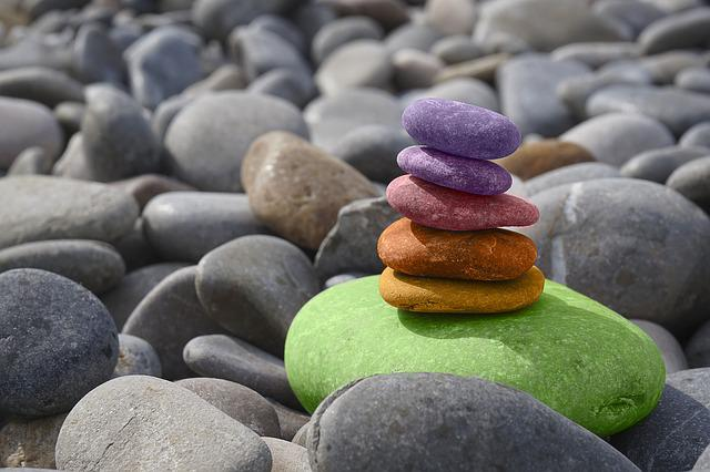 Balance, Stones, Meditation, Zen, Stone Garden, Sea