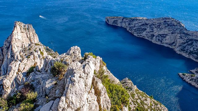 Calanque, Marseille, Sea, Mediterranean, Coast, Rock