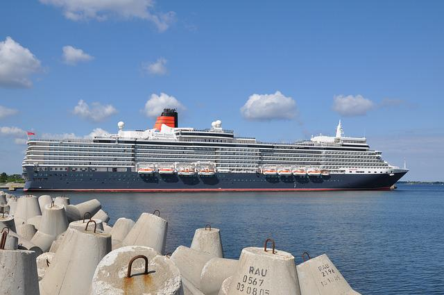 Queen Mary 2, Cruise, Mediterranean, Ship