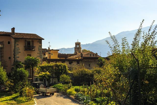 Mediterranean Landscape, Garda, Italy, Malcesine