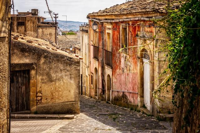 Sicily, City, Village, Past, Mediterranean, Old
