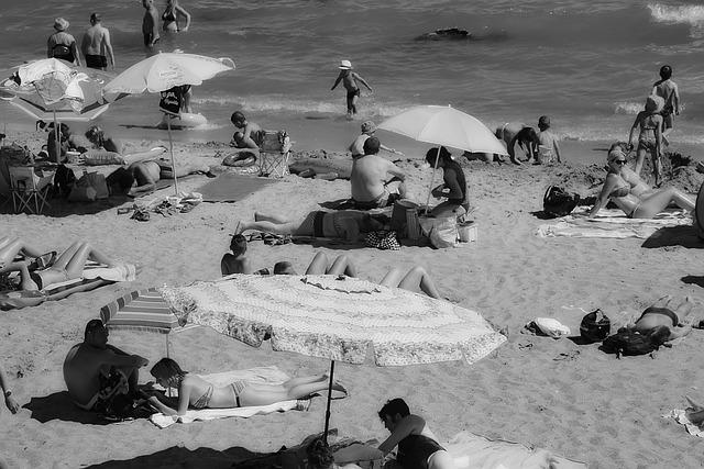 Beach, Sea, Sand, Relax, Mediterranean, Waves, Blue