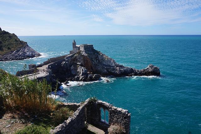 Italy, Mediterranean, Coast, Holiday, Rock