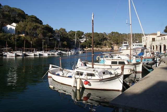 Mallorca, Port, Island, Mediterranean, Spain, Boats