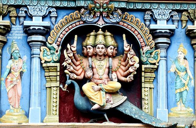 Madurai, Meenakshi Amman Temple, Load Muruga, Deity
