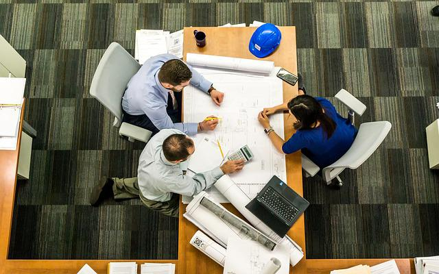 Meeting, Construction, Business, Architect, Office