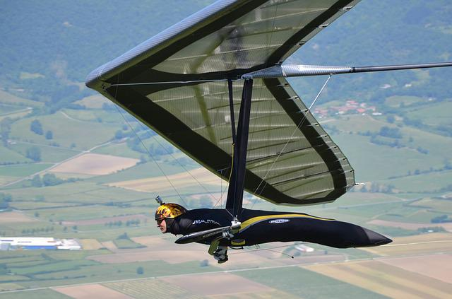 Hang Gliding, Delta-wing, Meeting, Competition
