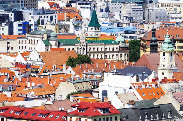 Bratislava, Slovakia, City, View, Megalopolis