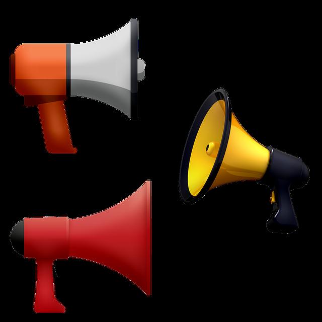 Megaphone, Protest, Black Lives Matter, Resist