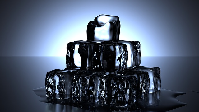 Ice Cubes, Cold, Water, Melt, Drink, Thirst