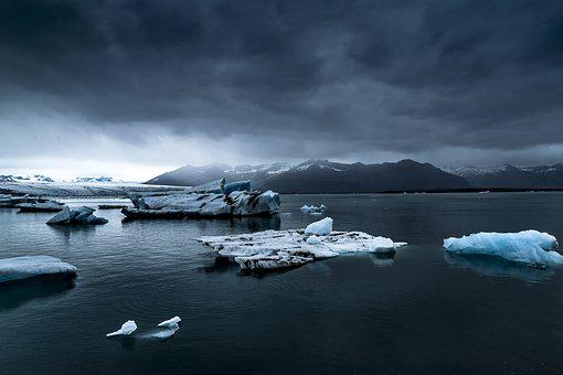 Cold, Foggy, Frozen, Glacier, Ice, Iceberg, Melting