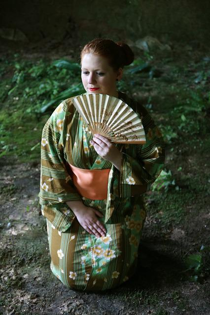 Japan Woman Memoirs Of A Geisha Japanese Kimono