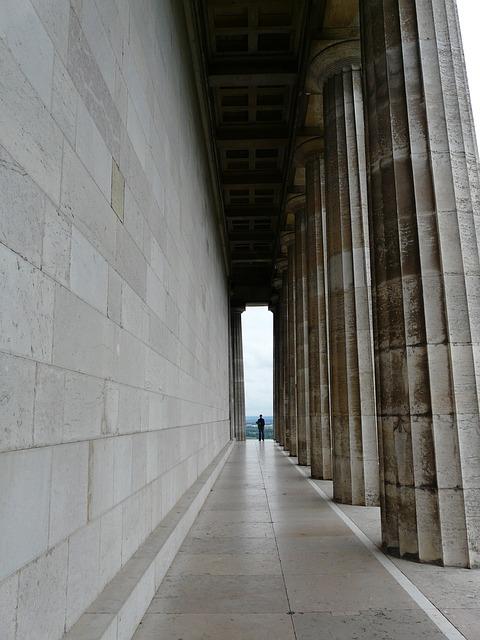 Arcade, Columnar, Walhalla, Memorial