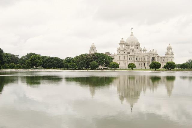 Victoria, Memorial, Calcutta, Landmark, British