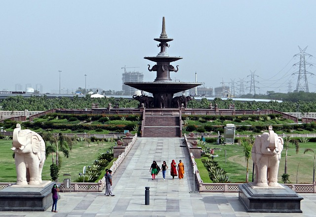 Dalit Prerna Sthal, Memorial, Fountain, Garden
