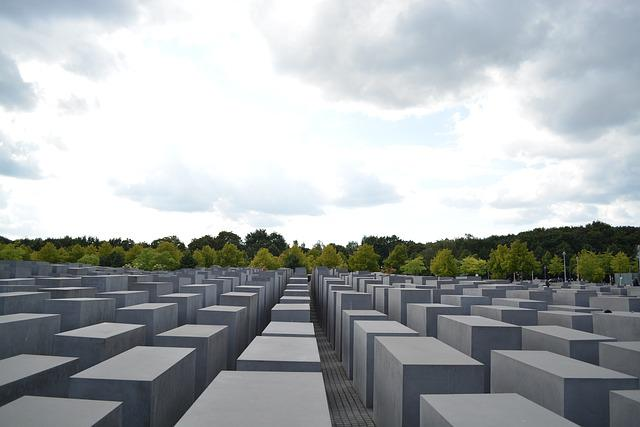 Memorial, Holocaust, Jewish Heritage, Berlin, Monument