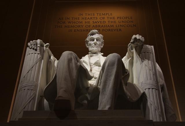 Memorial, Lincoln, President, Monument, Landmark