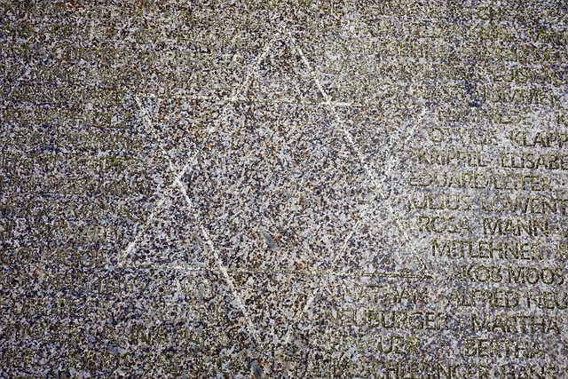 Star Of David, Memorial Stone, Stone, Memorial Plaque