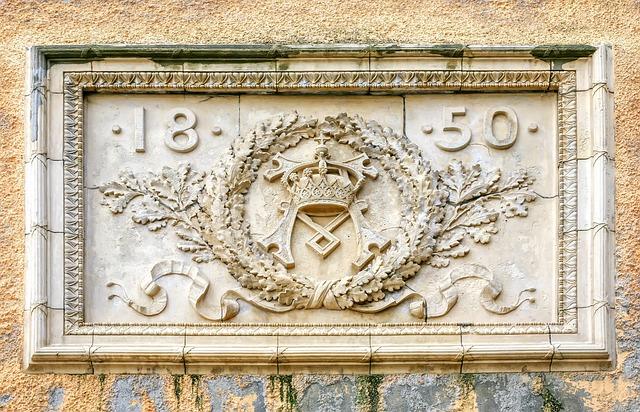 Architecture, Seal, Royal, King Seal, Memorial Stone