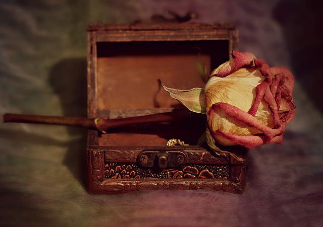 Rose, Box, Dry, Memories