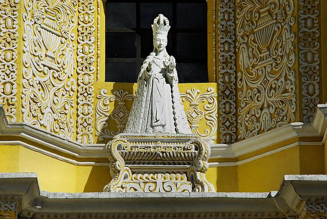 Guatemela, Antigua, Church, Merced, Statue, Religion