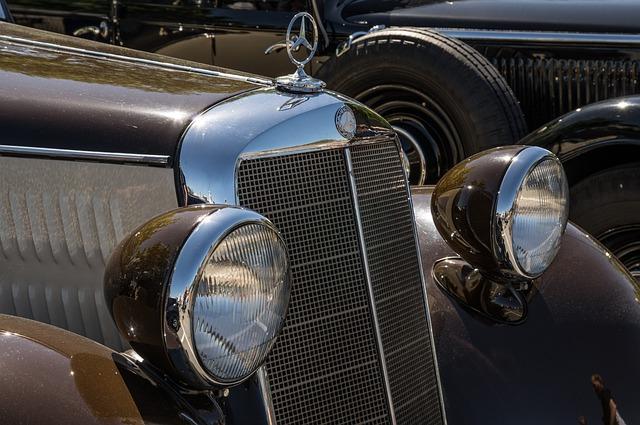 Mercedes, Oldtimer, Auto, Classic, Mercedes Benz, Star