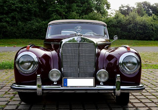 Auto, Oldtimer, Mercedes, Classic, Old, Automotive