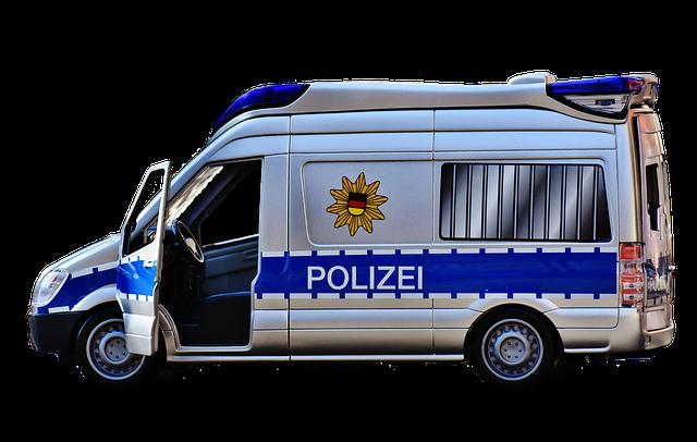 Police Car, Police, Blue Light, Toys, Mercedes, Auto