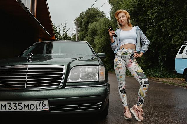 Mercedes, Retro, Vintage, Russia Nineties, Nostalgia