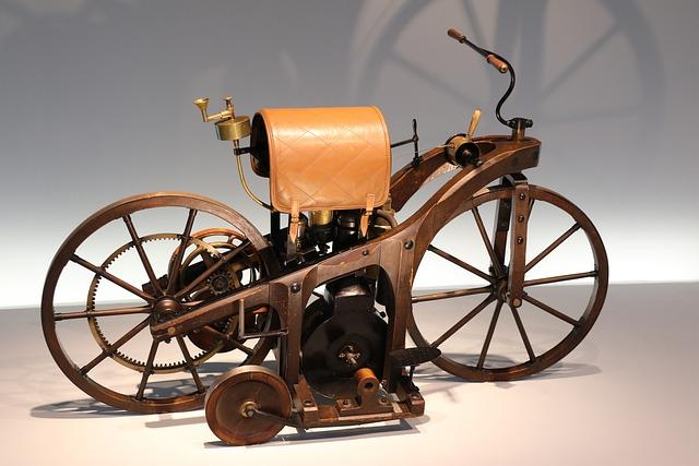 Mercedes-benz Museum, Stuttgart, Oldtimer, Motorcycle