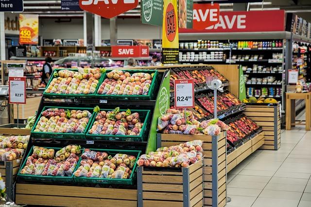 Grocery, Shopping, Supermarket, Merchandising