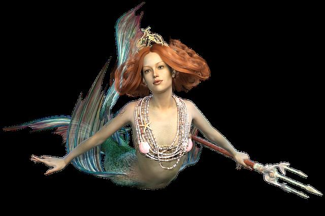 Mermaid, The Sea Maid, Mythical Creatures, Ocean