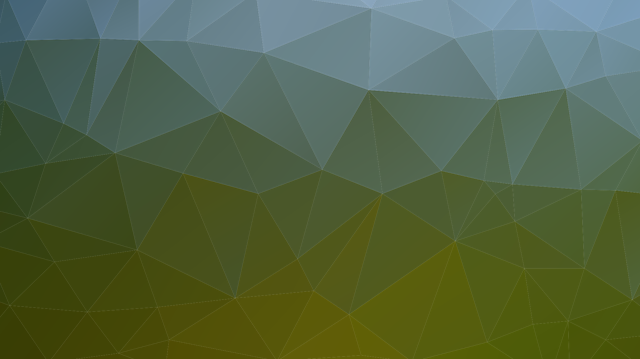 Mesh, Background, Triangles, Green, Color