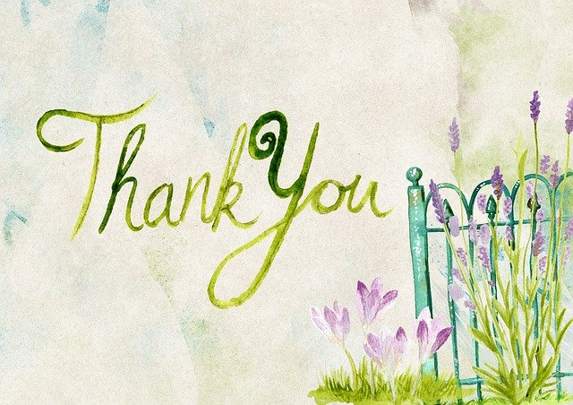 Thank You, Thanks, Greeting, Card, Message, Purple