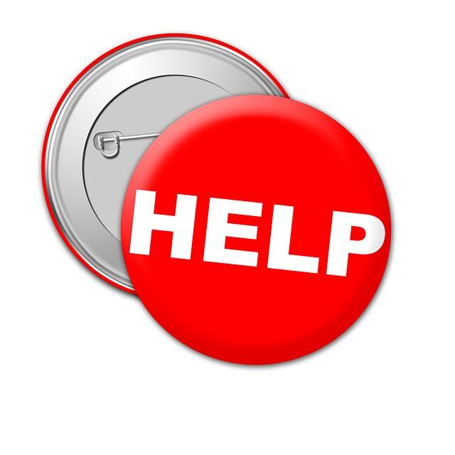 Help, Badge, Metal, Pin, Lapel, Design, Icon, Symbol