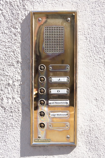 Bell, Intercom, House Entrance, Door Bell, Metal, Brass