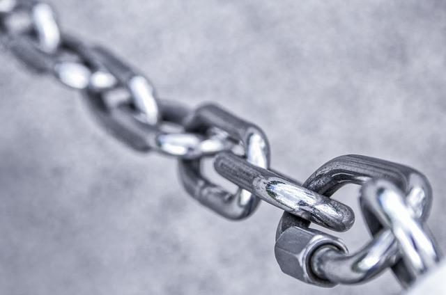 Chain, Stainless Steel, Metal, Iron, Links Of The Chain