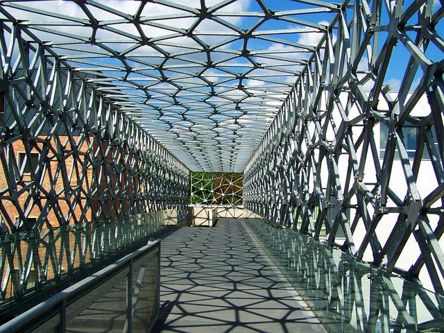 Bridge, Passageway, Metal Construction