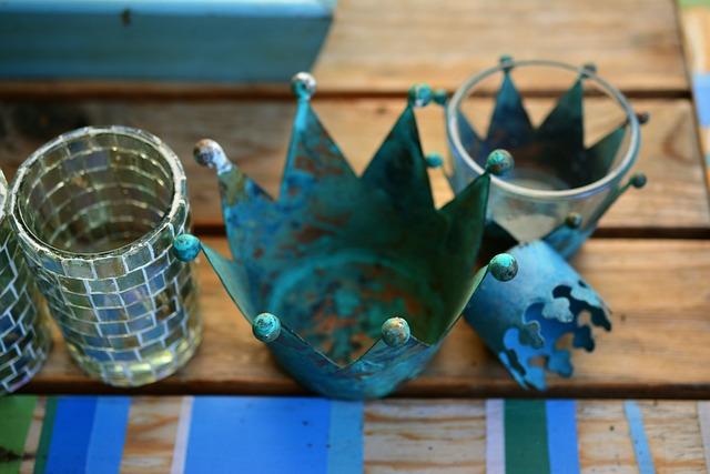 Decoration, Crown, Hodge Podge, Metal Crown, Metal